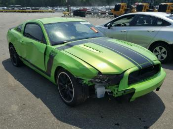 Salvage Ford Mustang